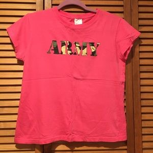 Tops - Army T-shirt